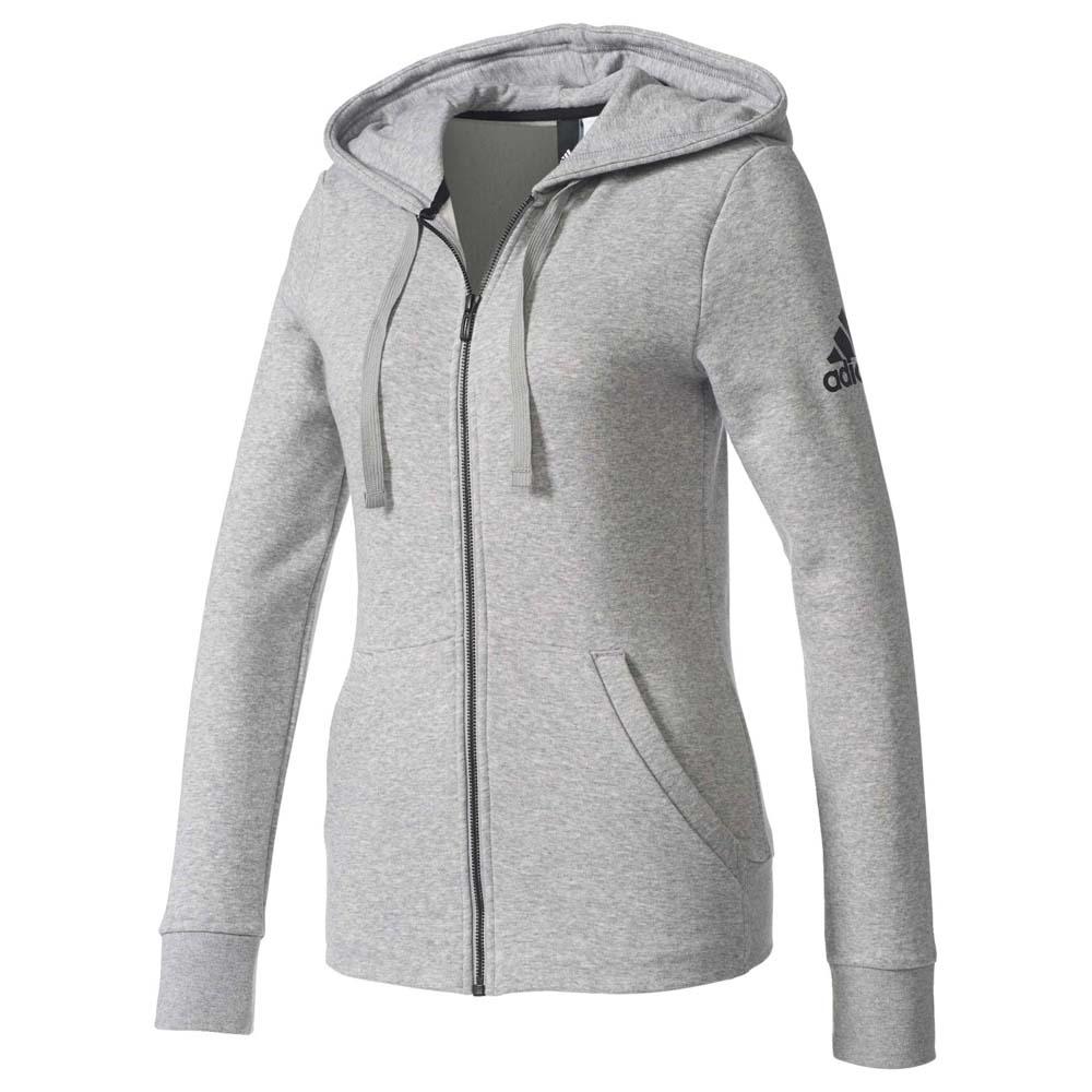 adidas Essentials Solid Fullzip Hoodie Women's Sweatshirt In