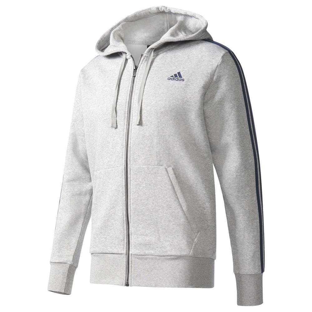 New adidas Men's Essentials Full Zip Hoodie