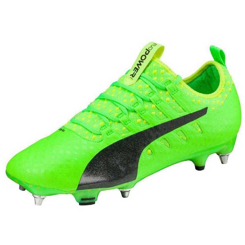 Puma Evopower Vigor 1 Mix SG Football Boots Green, Goalinn
