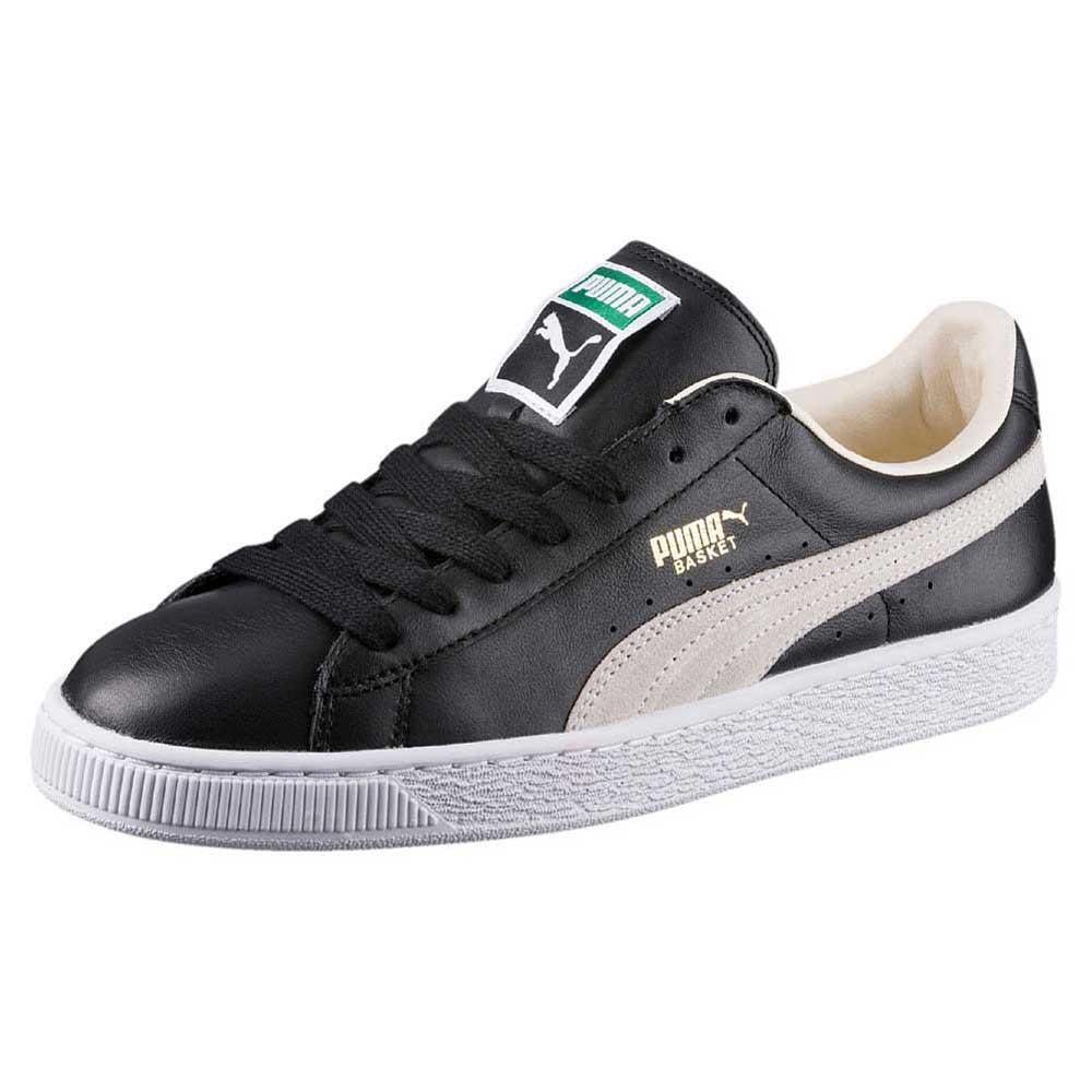 27758c8e082940 Puma Basket Classic Black buy and offers on Goalinn