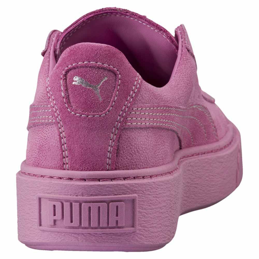 Puma Basket Platform Reset Rosa kjøp og tilbud, Goalinn Joggesko