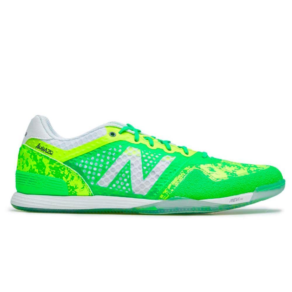 New balance Audazo Pro Futsal Indoor Football Shoes Green, Goalinn