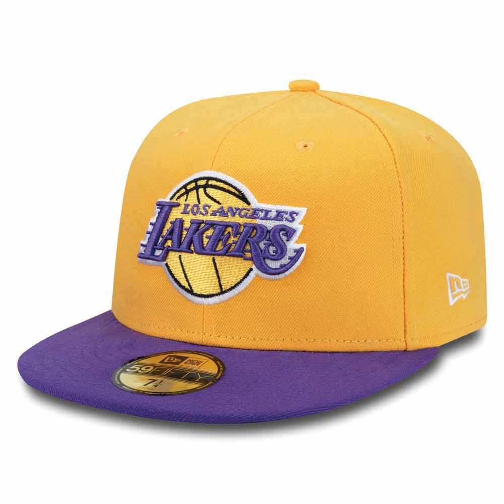 factory authentic 18838 b454e New era 59 Fifty Los Angeles Lakers Yellow, Goalinn