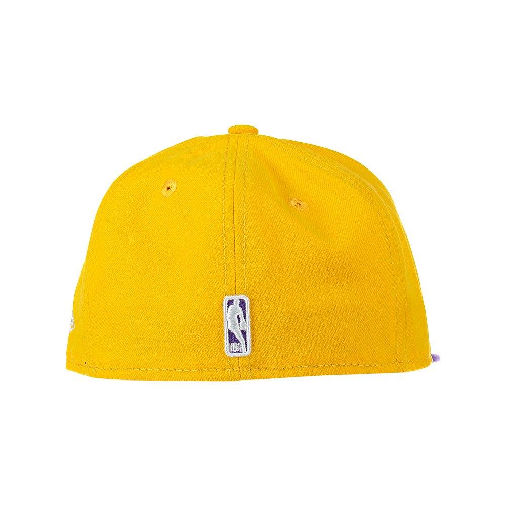 c890fd0ca5d90 New era 59 Fifty Los Angeles Lakers Yellow