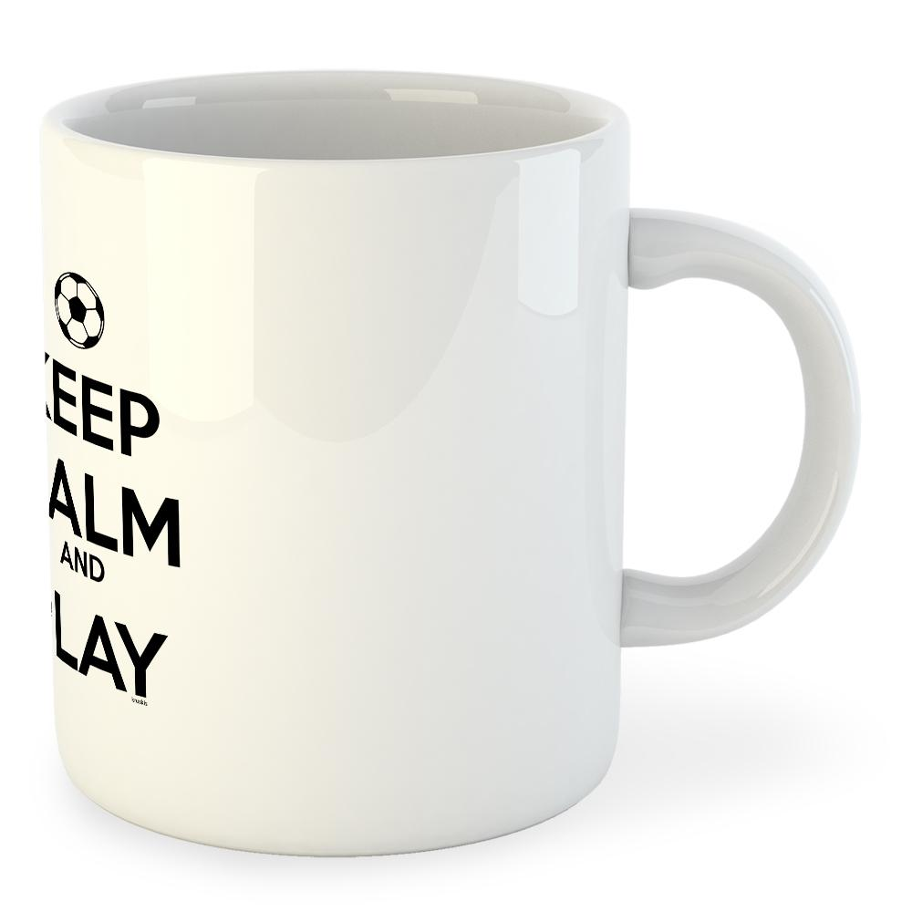 becher-keep-calm-and-play-football