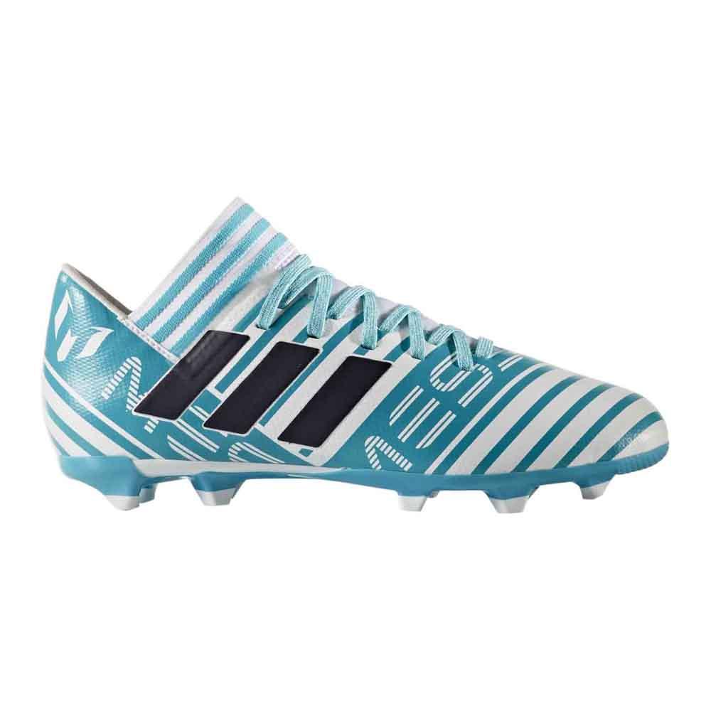 71a1f2b7043 adidas Nemeziz Messi 17.3 FG White buy and offers on Goalinn