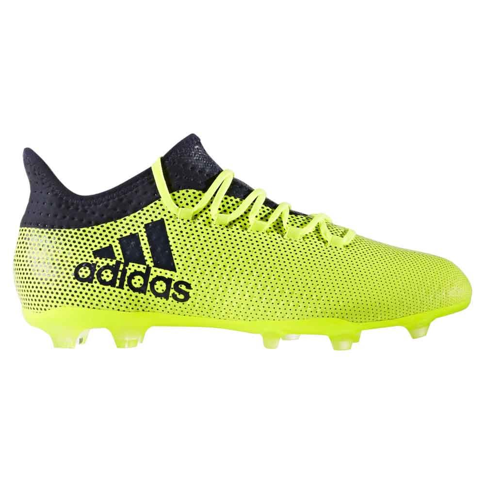 adidas Chaussures Football X 17.2 FG Vert, Goalinn