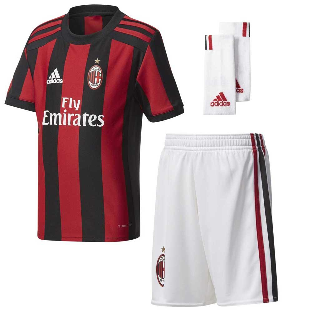 Adidas Ac Milan Home Mini Kit 17 18 Buy And Offers On Goalinn