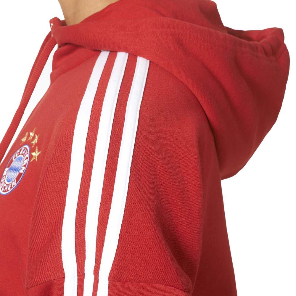 adidas FC Bayern Munich 3S Full Zip Hoodie Woman Rød