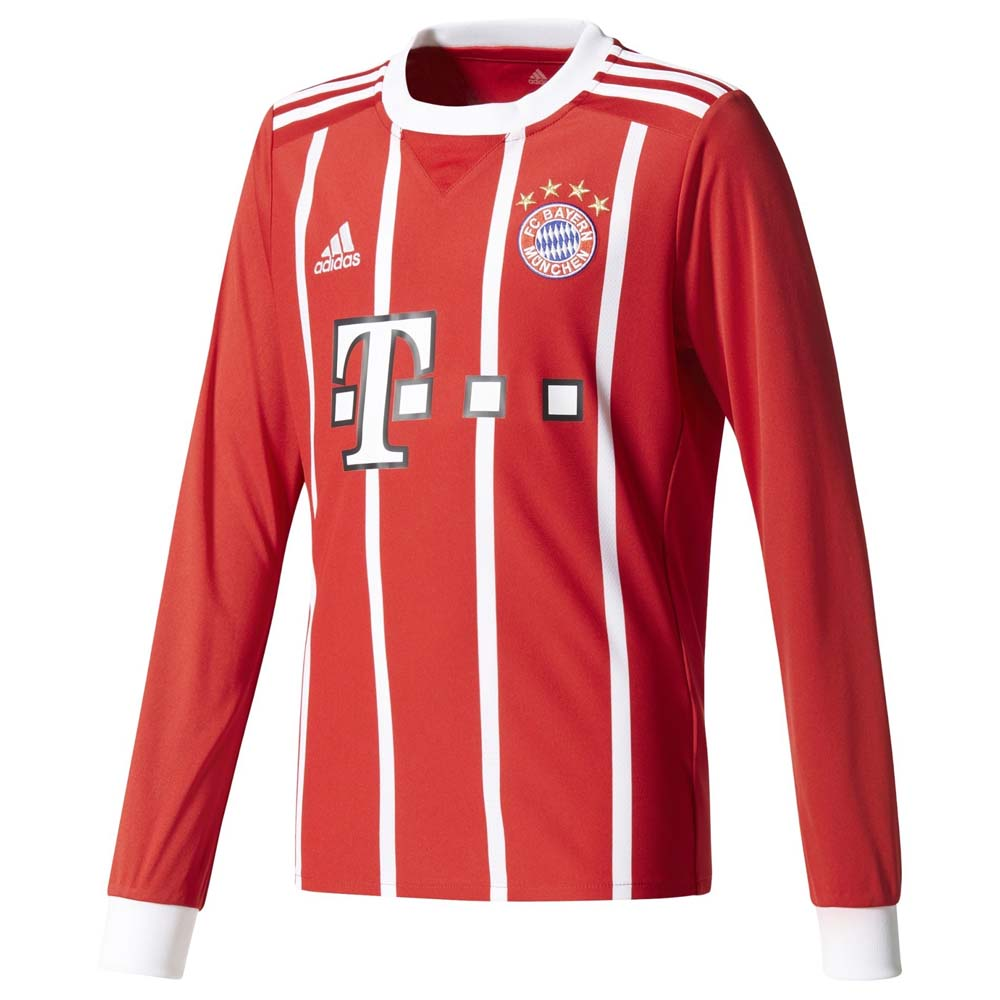 Clubs Adidas Fc Bayern Munich Home Jersey Junior L/s