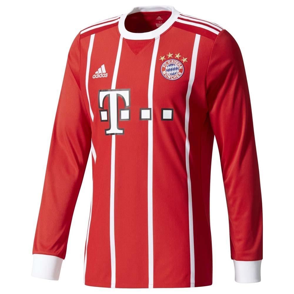 Clubs Adidas Fc Bayern Munich Home Jersey L/s