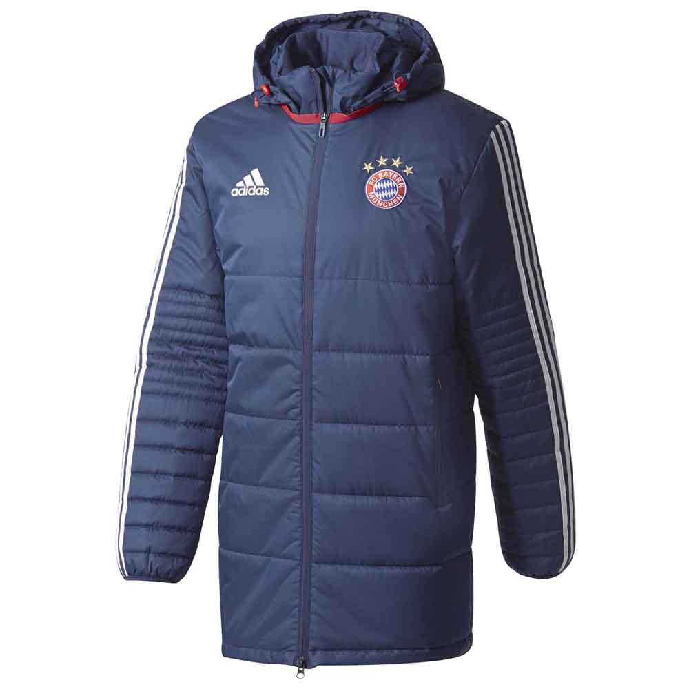 adidas fc bayern munich winter jacket parka buy and offers. Black Bedroom Furniture Sets. Home Design Ideas