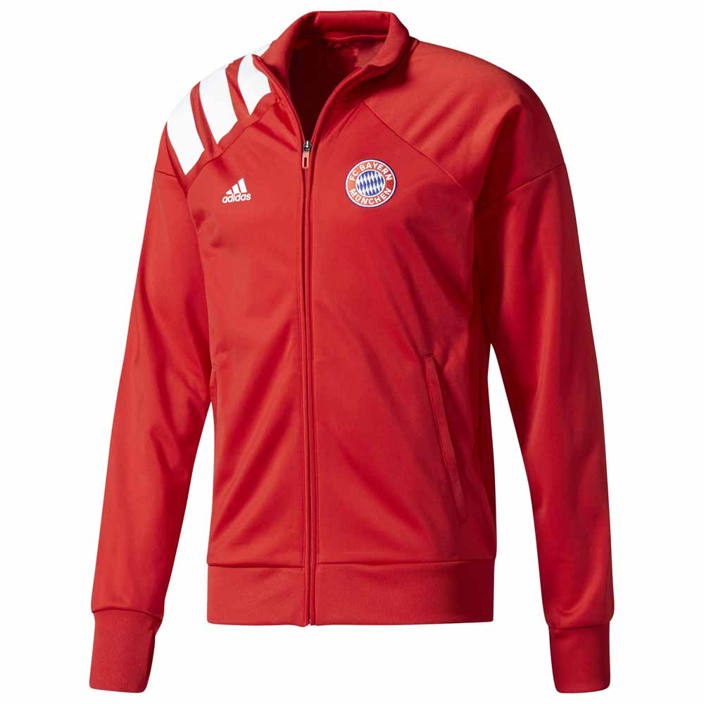 adidas fc bayern munich woven jacket buy and offers on goalinn. Black Bedroom Furniture Sets. Home Design Ideas