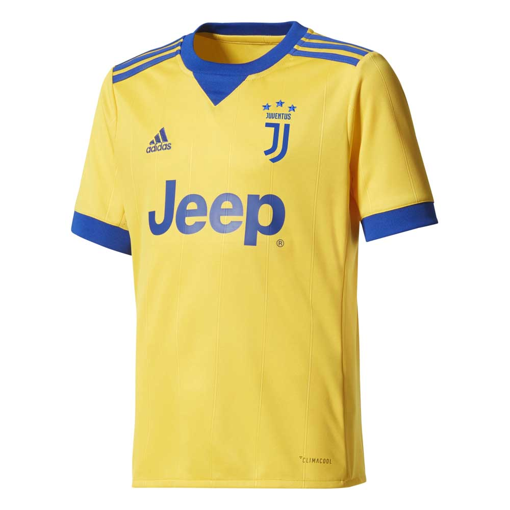 0856dd6a9 adidas Juventus Away Jersey Junior Yellow