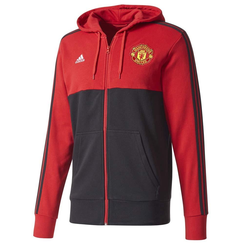 adidas Manchester United FC 3S Full Zip Hoodie, Goalinn
