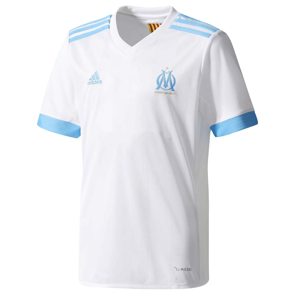 Clubs Adidas Olimpyque Marseille Home Jersey Junior