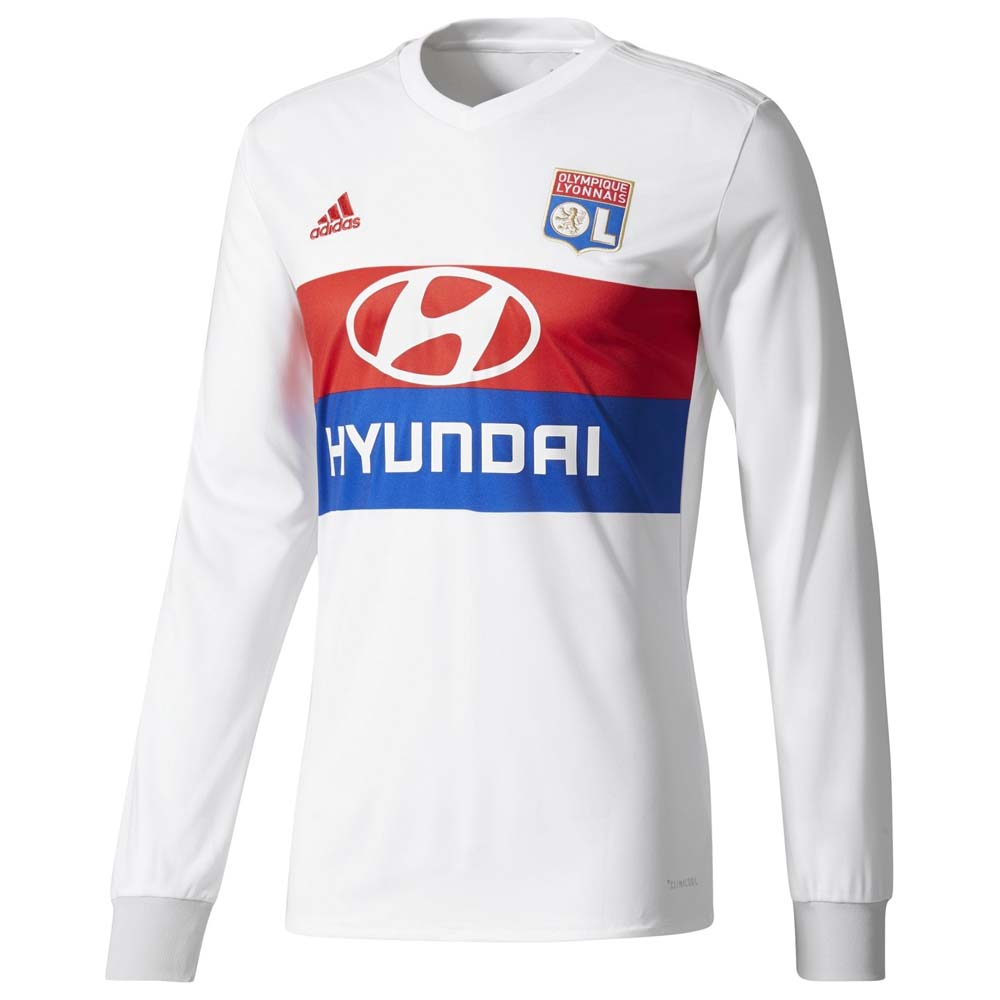 Suplemento si perecer  adidas Olympique Lyon Home Jersey L/S buy and offers on Goalinn