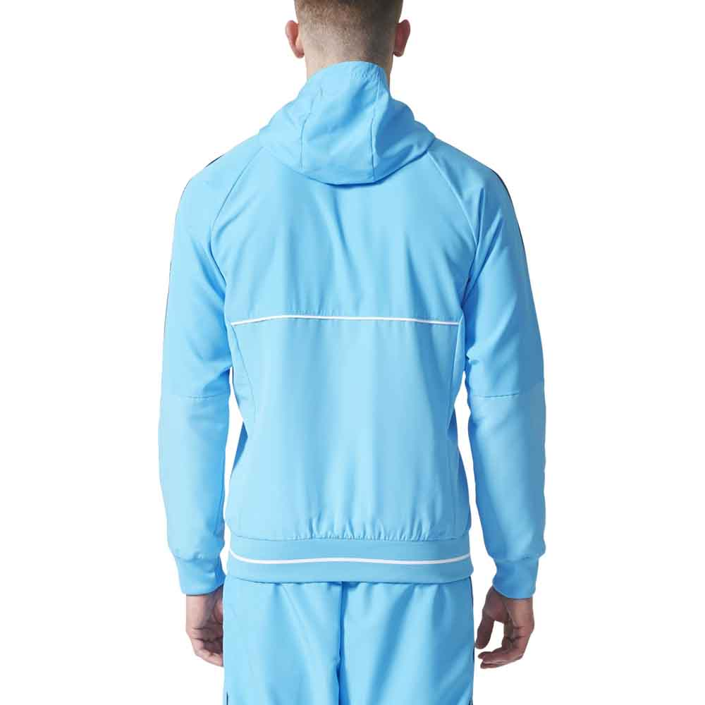 adidas olympique marseille pre jacket buy and offers on. Black Bedroom Furniture Sets. Home Design Ideas