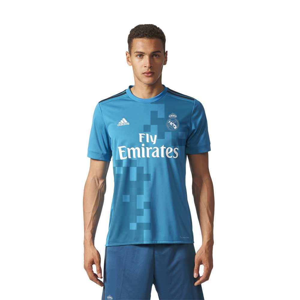 62e8ba22a adidas Real Madrid 3rd 17 18 Blue buy and offers on Goalinn