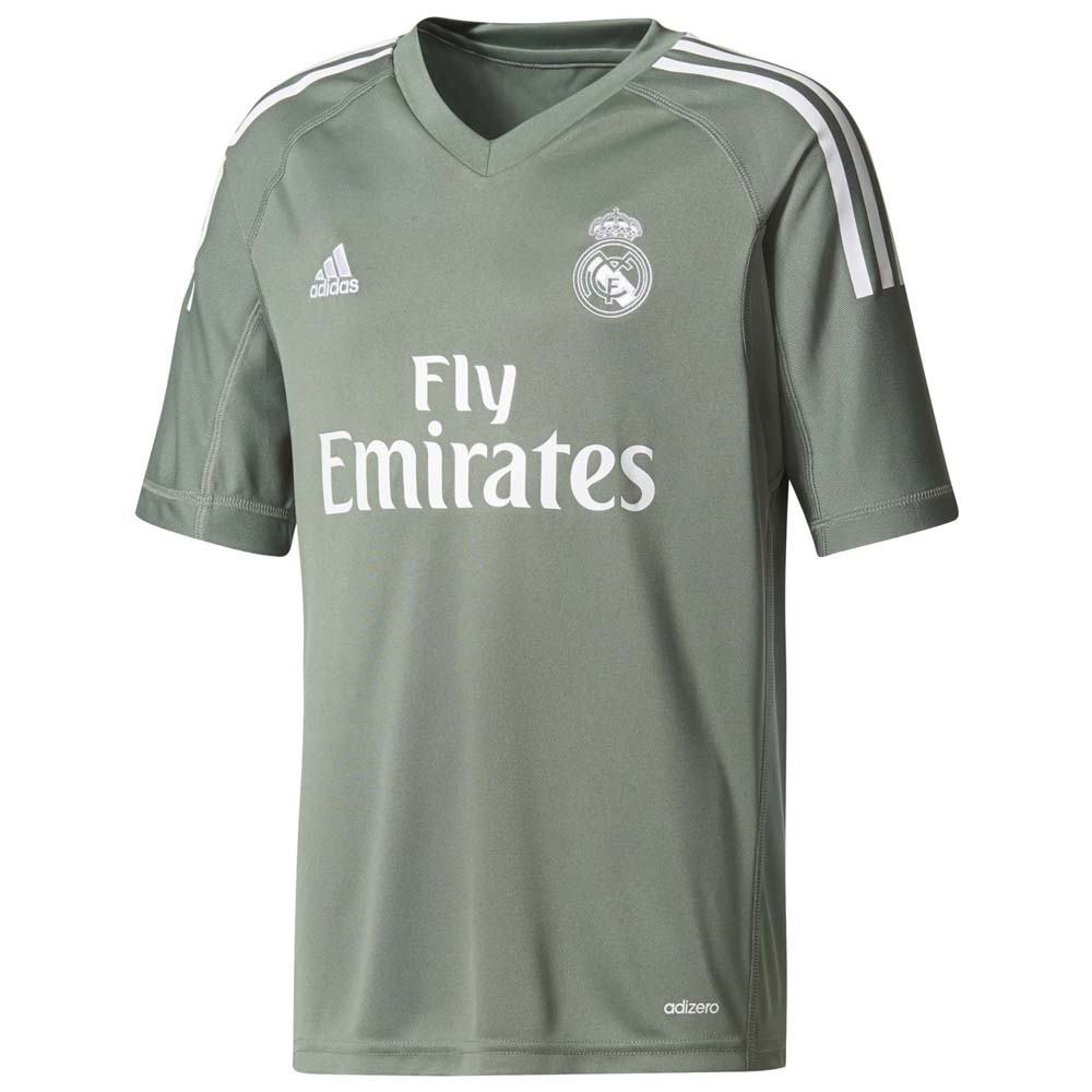 Clubs Adidas Real Madrid Home Gk Jersey Junior
