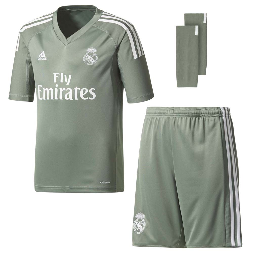 Clubs Adidas Real Madrid Home Gk Kit Junior