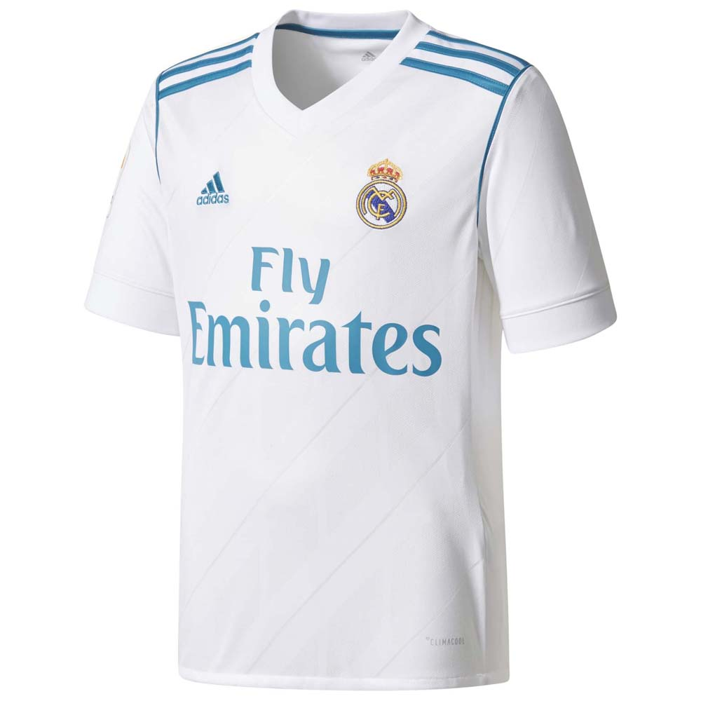 22be2e6e4 adidas Real Madrid Home 17 18 White buy and offers on Goalinn