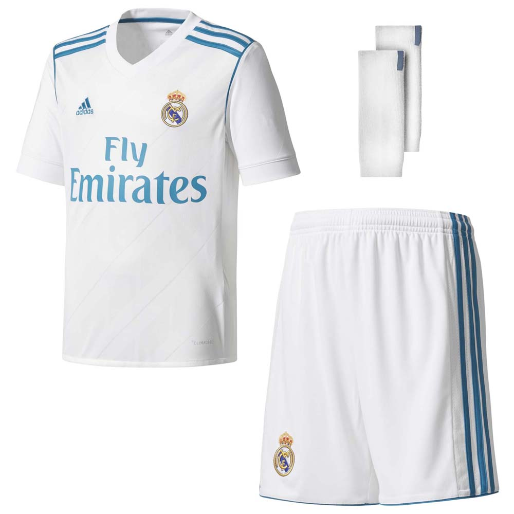 dbe6d5943 adidas Real Madrid Home Kit Junior White, Goalinn