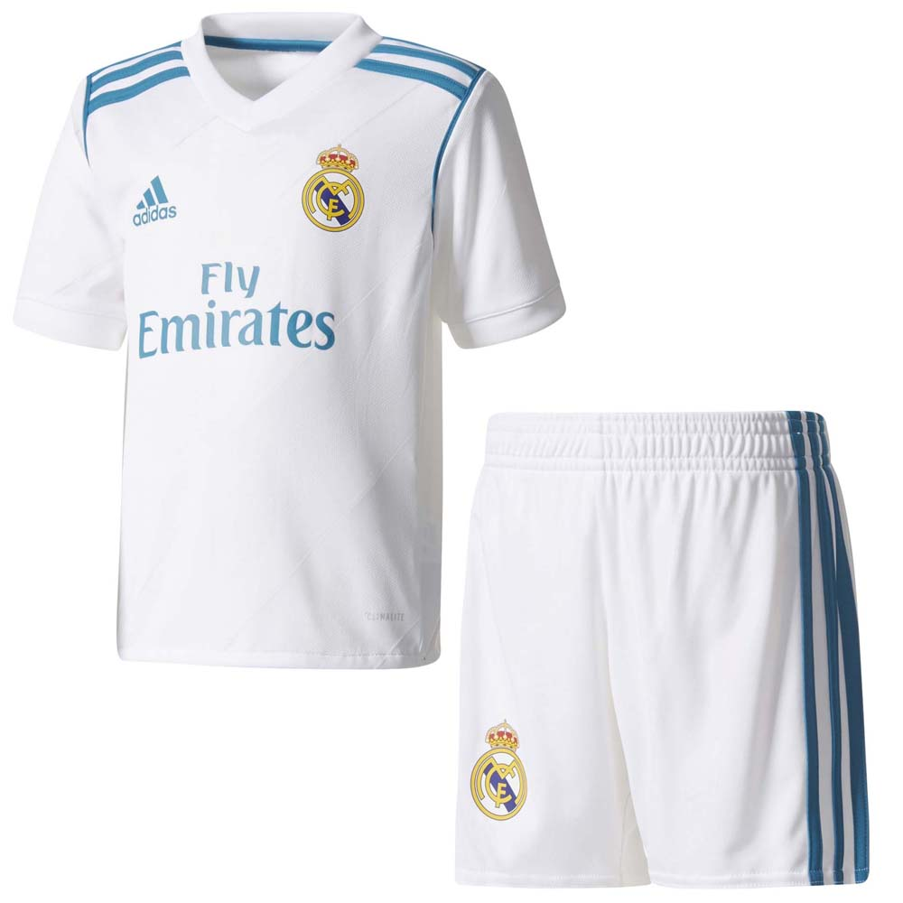 3dc8f5ce9 adidas Real Madrid Home Kit Mini Λευκό