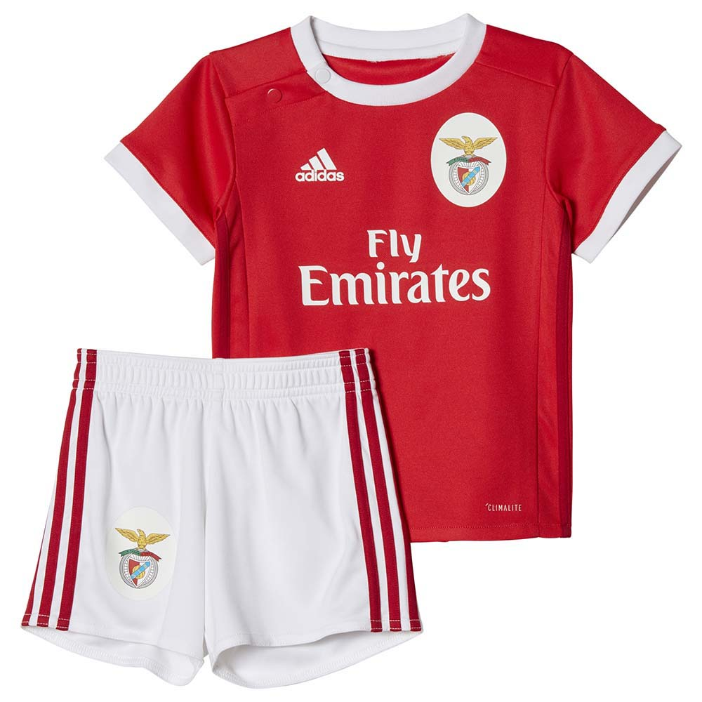 best service cb266 d4cd7 adidas SL Benfica Home Kit Baby buy and offers on Goalinn