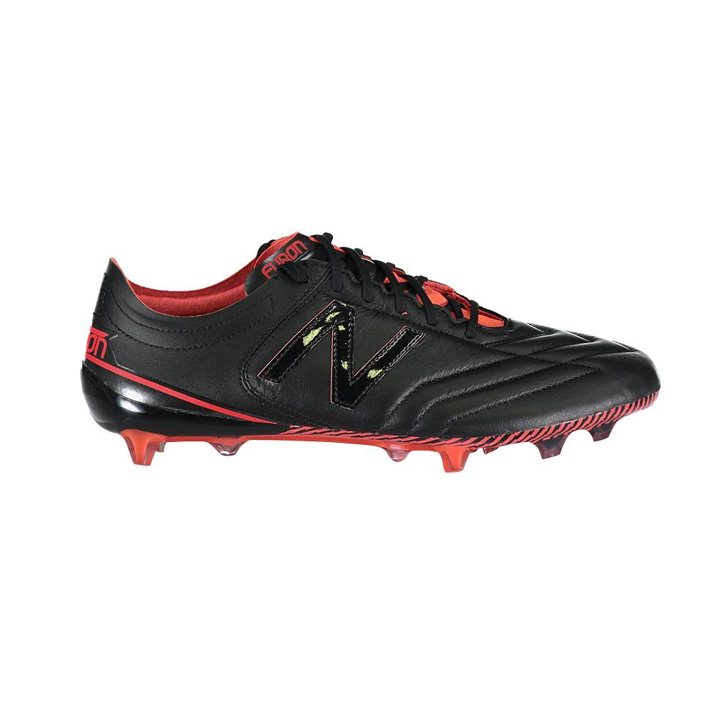 New balance Furon 3.0 Leather FG Football Boots Black, Goalinn