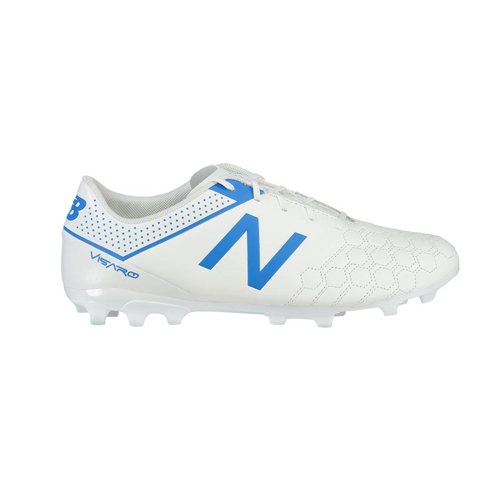 New balance Visaro Liga Leather AG Football Boots White, Goalinn