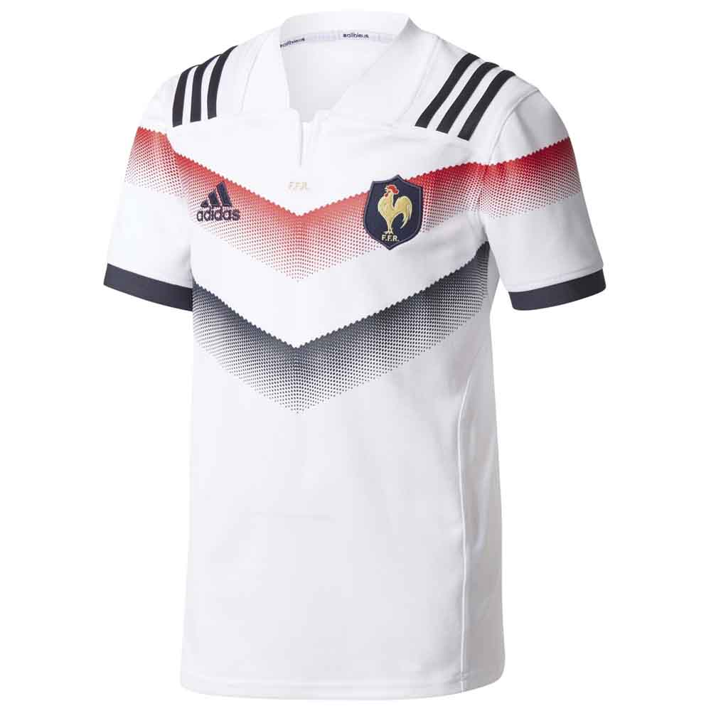 Rugby Adidas Ffr Away Jersey Junior