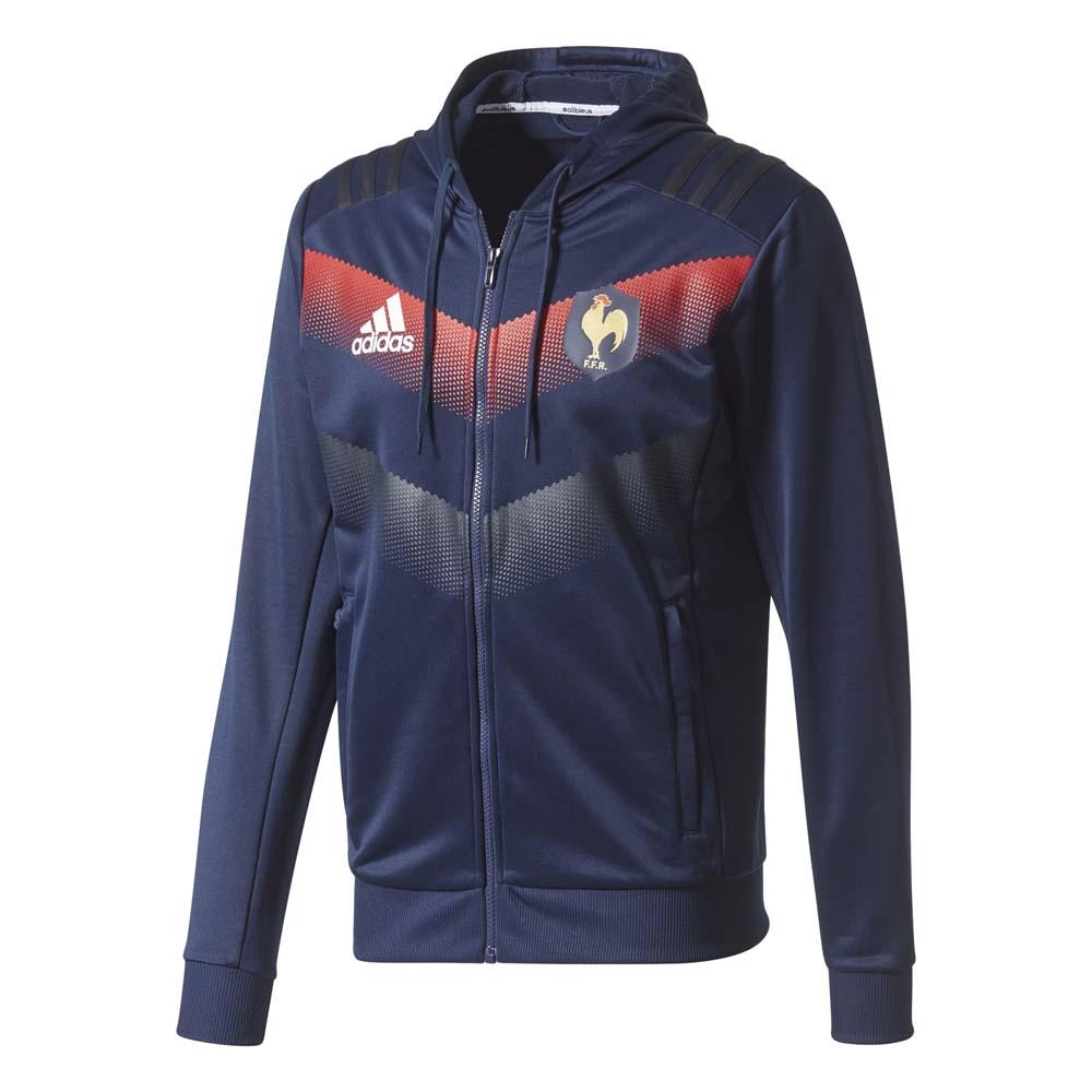 Rugby Adidas Ffr Hooded Sweater