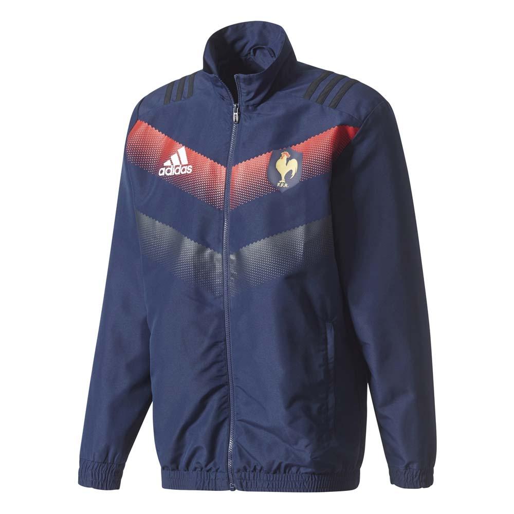 Rugby Adidas Ffr Presentation Jacket
