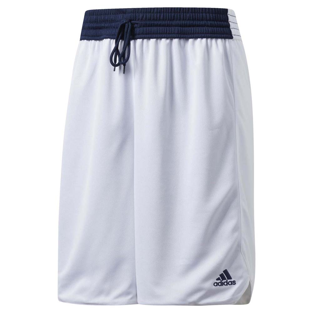 Adidas Basketball Sports Training Womens Reversible Crazy Explosive Shorts Blue