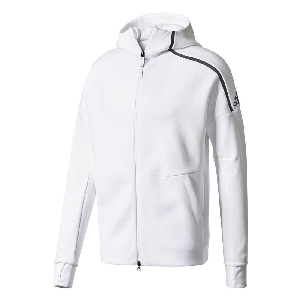adidas z.n.e. hoodie white