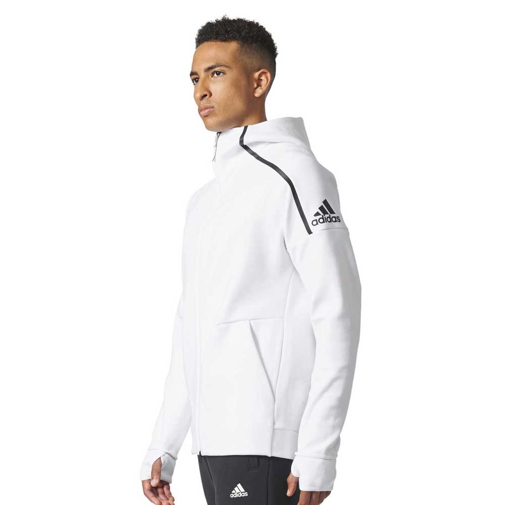 adidas zne hoody 2 buy and offers on goalinn. Black Bedroom Furniture Sets. Home Design Ideas