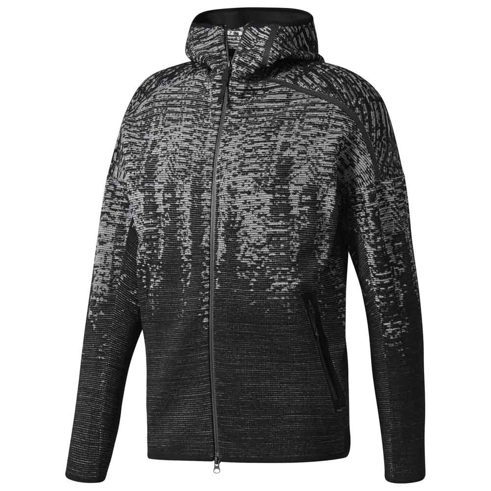 542bf82f6 adidas ZNE Pulse Knit Hooded buy and offers on Goalinn