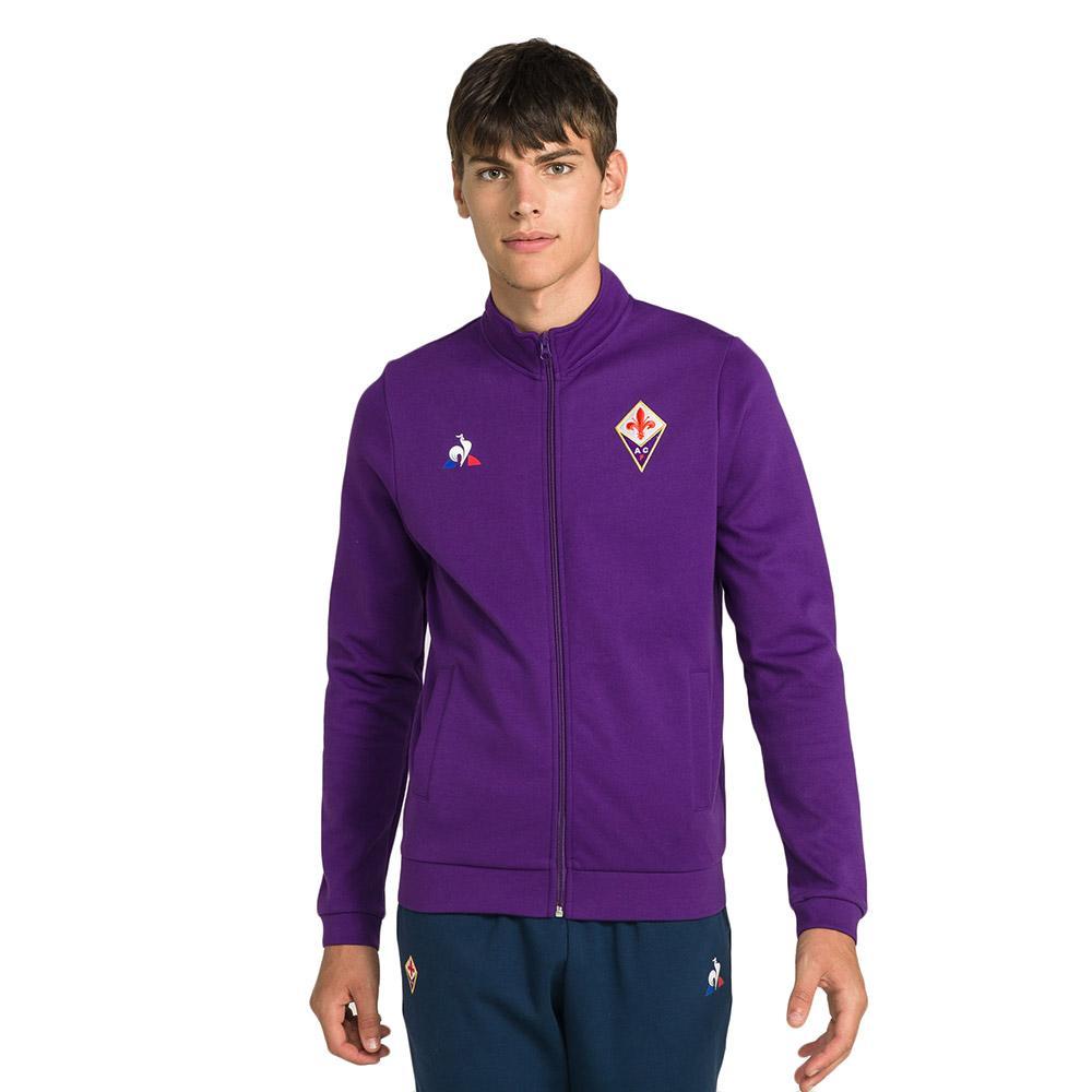 Le coq sportif Fiorentina Full Zip Sweat Presentation Viola, Goalinn
