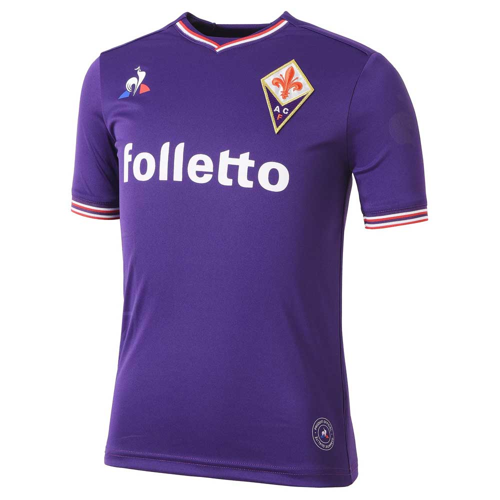 Le coq sportif AC Fiorentina Home Replica 17 18 Purple 56055edfd