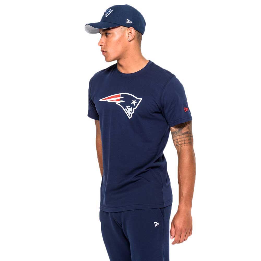 New era New England Patriots Team Logo Camiseta Negro aa1301862ea