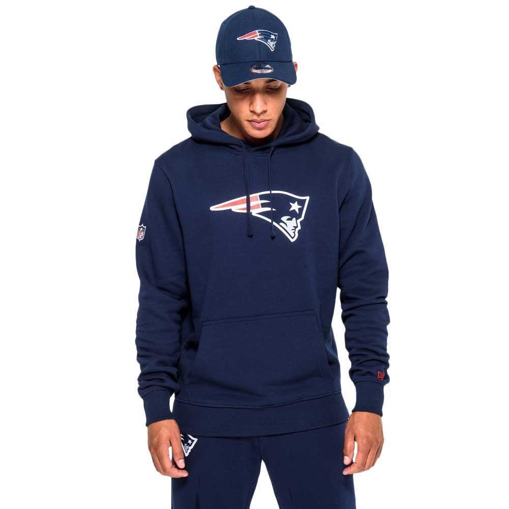 New era New England Patriots Pullover Team Logo Hoodie Blue 20226e694
