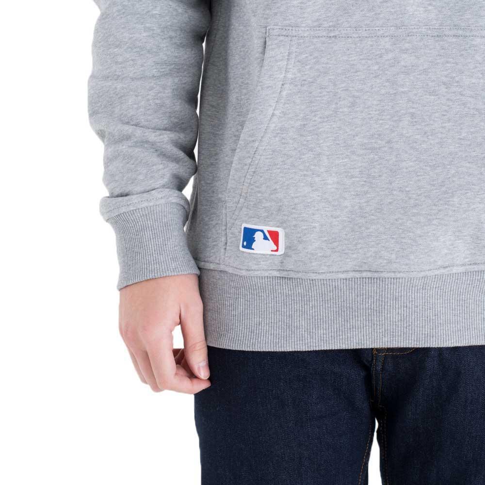 New Era Pullover MLB LOGO Baseball grau
