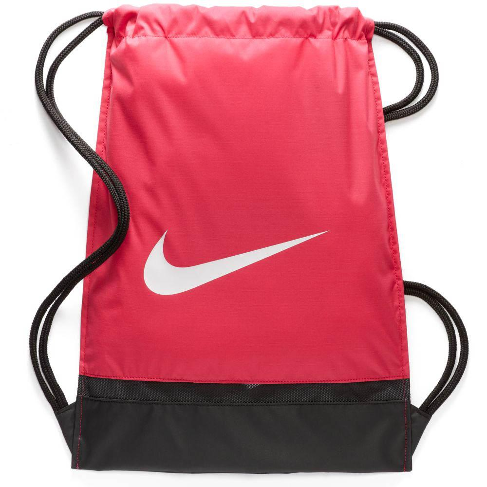 651b186c9e74 Nike Brasilia Gym Sack Rush Pink   Black   White