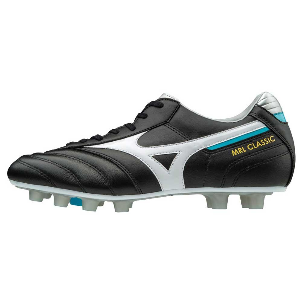 save off 269b1 55a47 Mizuno Morelia Classic MD Black buy and offers on Goalinn