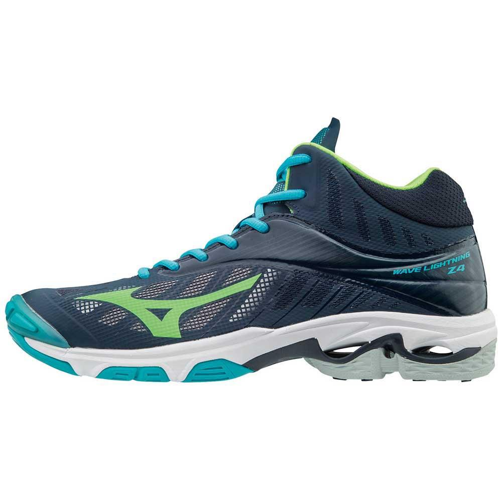 03ded5cb8ff44 Mizuno Wave Lightning Z4 Mid Blue buy and offers on Goalinn
