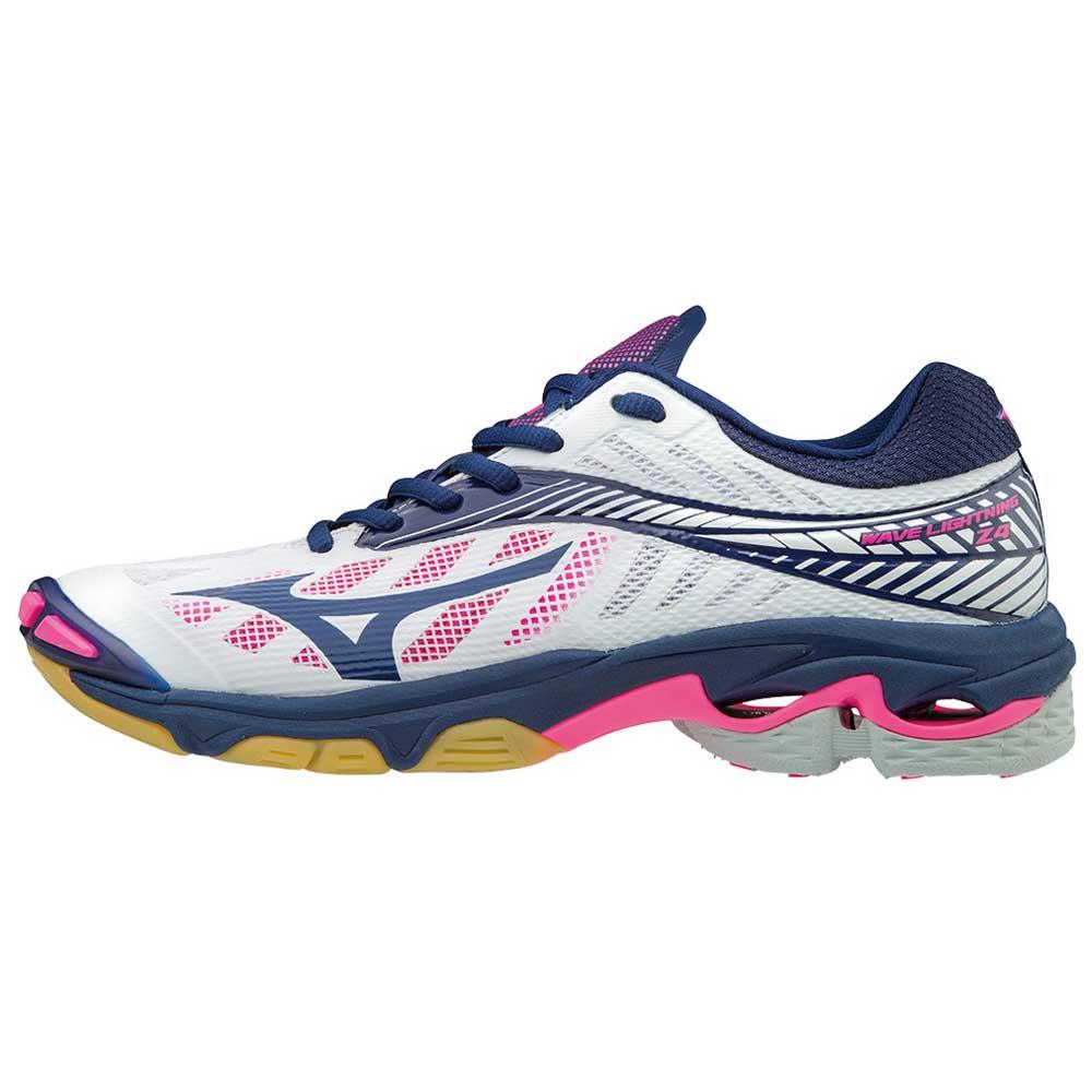 0aa3a1f92c8fa Mizuno Wave Lightning Z4 White buy and offers on Goalinn