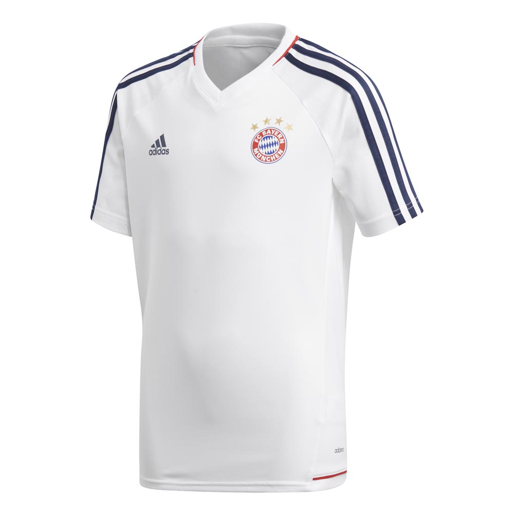9bc525fa0 adidas FC Bayern Munich Training Jersey Junior S S