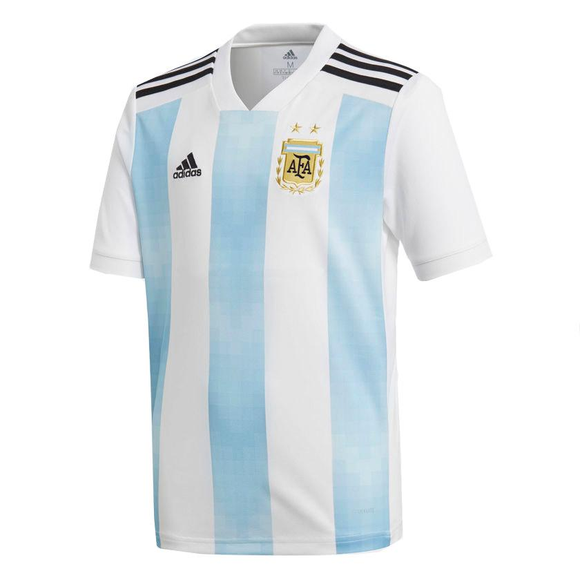 Football Adidas Argentina Home Jersey Junior S/s