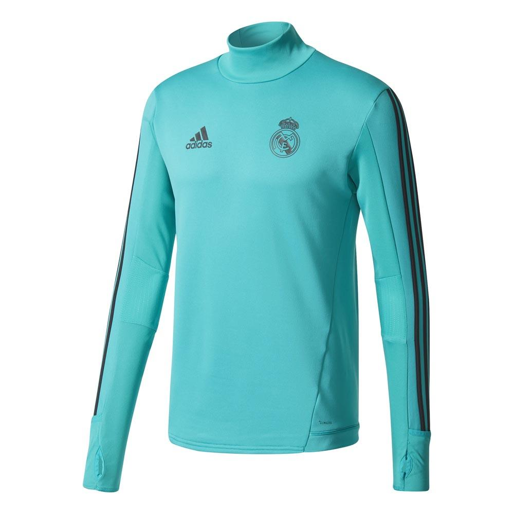 new product 12663 b482c adidas Real Madrid Training Top Green buy and offers on Goalinn